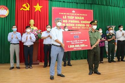 Đồng Nai, Quảng Ngãi: Tiếp nhận ủng hộ phòng, chống dịch Covid-19