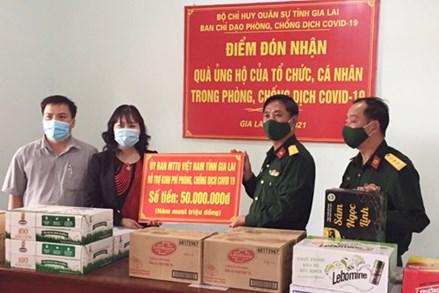 Gia Lai hỗ trợ 573 triệu đồng cho công dân đang gặp khó khăn tại tỉnh Bình Dương và TP. Hồ Chí Minh