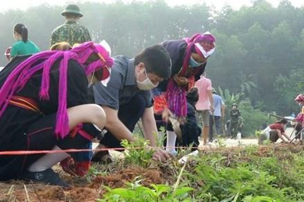 Đồn Đạc quyết tâm về đích nông thôn mới