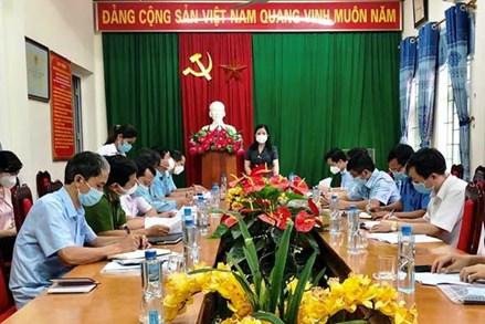 Chủ tịch Ủy ban MTTQ tỉnh Thanh Hóa kiểm tra công tác phòng, chống dịch tại huyện Như Xuân