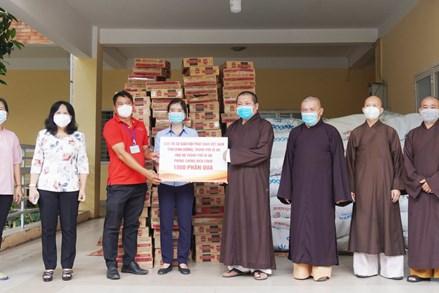 Các tổ chức tôn giáo tỉnh Bình Dương chung tay phòng chống dịch, bệnh Covid-19