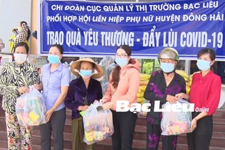 Mặt trận Tổ quốc tỉnh Bạc Liêu: Chia sẻ yêu thương - đẩy lùi COVID