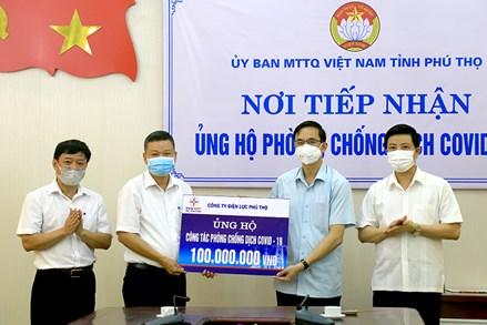 MTTQ các cấp tỉnh Phú Thọ: Phát huy sức mạnh đại đoàn kết phòng, chống dịch COVID-19