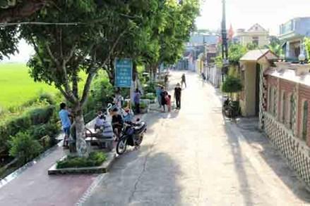 """""""Khu dân cư tự quản bảo vệ môi trường"""" thôn Thượng Đại"""
