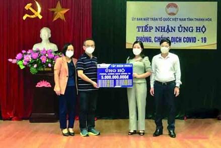 """Phát huy vai trò của MTTQ trong công tác phòng, chống dịch, góp phần thực hiện """"mục tiêu kép"""" trên địa bàn tỉnh Thanh Hóa"""