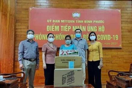 MTTQ tỉnh Bình Phước tích cực tham gia phòng chống dịch covid-19