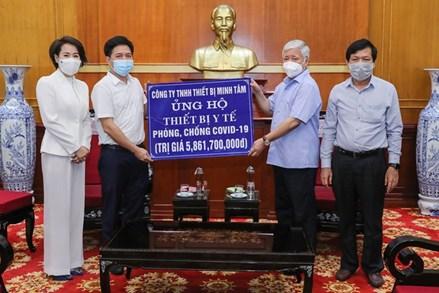 Ủy ban MTTQ Việt Nam tiếp tục đẩy mạnh tuyên truyền phòng, chống dịch Covid - 19 và phát triển kinh tế - xã hội trong trạng thái bình thường mới