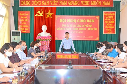 Tuyên Quang: Tăng cường phối hợp giữa MTTQ và các tổ chức chính trị - xã hội