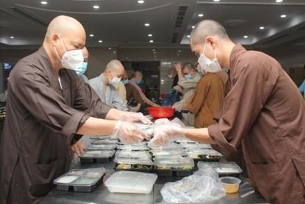 Giáo hội Phật giáo Việt Nam kêu gọi các cơ sở thờ tự tiếp tục chung tay phòng chống dịch