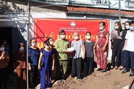 Hiện thực hóa ước mơ có nhà ở tươm tất cho các gia đình khó khăn ở Cẩm Xuyên