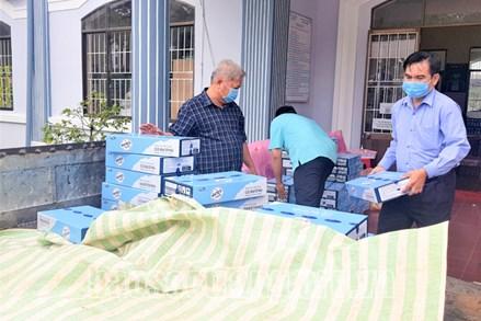 MTTQ tỉnh Sóc Trăng tiếp sức, hỗ trợ người dân trở về cách ly