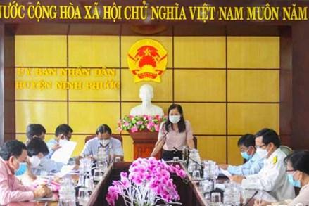 Ủy ban MTTQ tỉnh Ninh Thuận giám sát thực hiện chính sách hỗ trợ người gặp khó khăn do dịch COVID-19