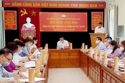 MTTQ tỉnh Tuyên Quang triển khai hiệu quả nhiệm vụ công tác quý III