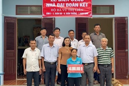 Mặt trận Tổ quốc Xuân Trường chăm lo đời sống nhân dân