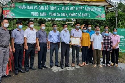 Đạ Tẻh (Lâm Đồng): Trao bằng khen cho Nhân dân và cán bộ 4 thôn bảo vệ tốt 'vùng xanh''