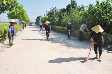 Mặt trận Tổ quốc huyện Lộc Hà chung tay xây dựng huyện đạt chuẩn nông thôn mới