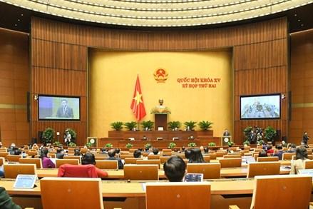 Báo cáo kết quả giám sát của Mặt trận Tổ quốc Việt Nam từ sau kỳ họp thứ 11 Quốc hội khóa XIV đến kỳ họp thứ 2 Quốc hội khóa XV