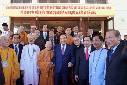 Đảng, Nhà nước, MTTQ Việt Nam luôn quan tâm phát huy nguồn lực của tôn giáo trong đời sống xã hội