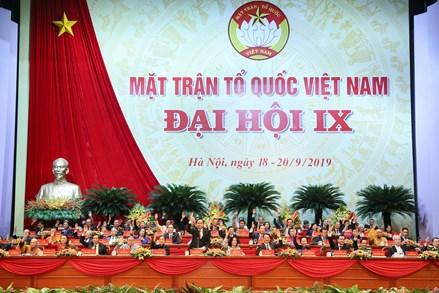 Hiệp thương nhân sự UBTƯ MTTQ Việt Nam khóa IX
