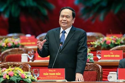 Chủ tịch UBTƯ MTTQ Việt Nam Trần Thanh Mẫn thăm và làm việc tại Hàn Quốc