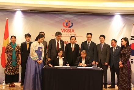 Thúc đẩy mạnh mẽ liên kết giữa các doanh nhân, doanh nghiệp hai nước Việt Nam - Hàn Quốc