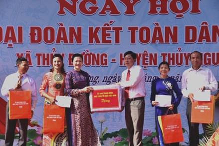 Hải Phòng: Tưng bừng Ngày hội Đại đoàn kết xã Thủy Đường, huyện Thủy Nguyên