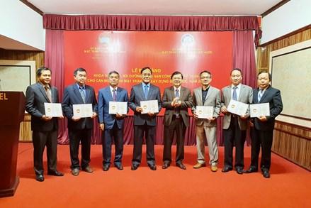 Bế giảng Khóa đào tạo, bồi dưỡng ngắn hạn cho cán bộ Mặt trận Lào