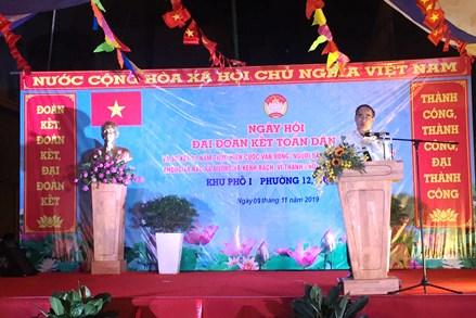 Bí thư Thành ủy TP HCM Nguyễn Thiện Nhân dự Ngày hội Đại đoàn kết toàn dân tộc tại khu dân cư