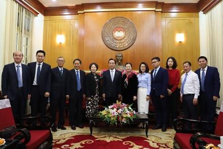 Tăng cường phối hợp giữa MTTQ Việt Nam với Chính hiệp Trung Quốc
