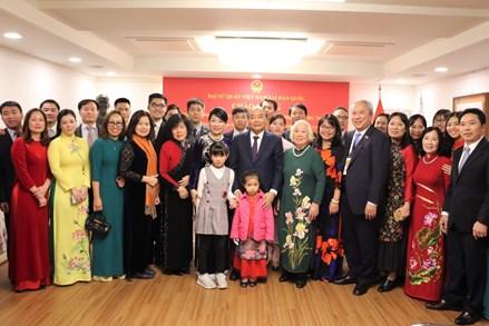 Phát huy truyền thống tốt đẹp ông cha ta đã gây dựng trên mảnh đất Hàn Quốc