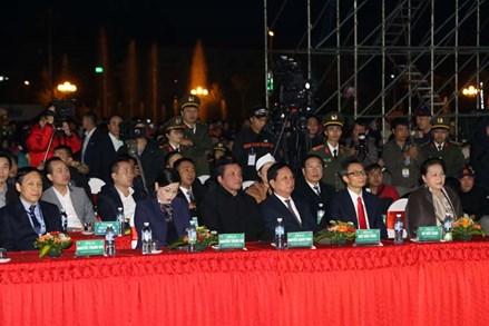 Chủ tịch Quốc hội dự lễ khai mạc Tuần Văn hóa-Du lịch tỉnh Hòa Bình