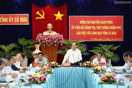 Thủ tướng tin Cảng Hòn Khoai sẽ là điểm nhấn để Cà Mau cất cánh