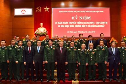 Xây dựng quân đội vững mạnh về chính trị
