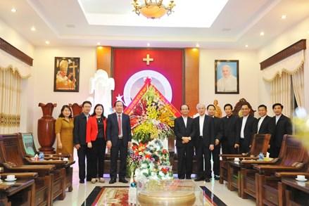 Phó Chủ tịch Ngô Sách Thực chúc mừng chức sắc Công giáo nhân dịp Lễ Giáng sinh năm 2019