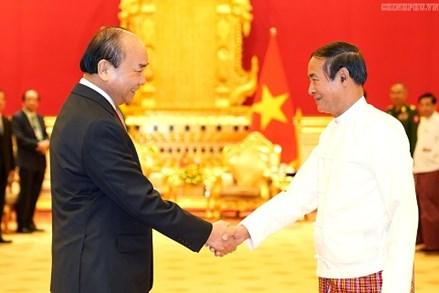 Thủ tướng Nguyễn Xuân Phúc kết thúc chuyến thăm chính thức Myanmar