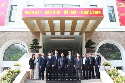Đoàn đại biểu Chính Hiệp khu tự trị Tây Tạng thăm, làm việc tại TP Hồ Chí Minh