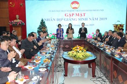 Hà Nội: Gặp mặt các chức sắc, chức việc, Trưởng ban CTMT 41 thôn Công giáo toàn tòng
