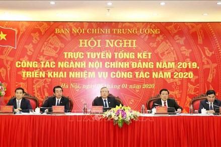 Hội nghị tổng kết công tác ngành Nội chính Đảng năm 2019