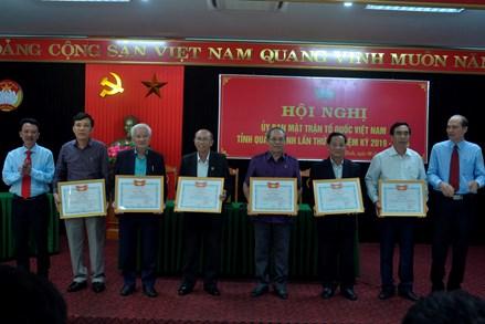Mặt trận Quảng Bình đẩy mạnh công tác tuyên truyền Đại hội Đảng các cấp
