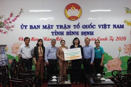 Đoàn TP HCM trao quà Tết Canh Tý 2020 cho hộ nghèo tỉnh Bình Định