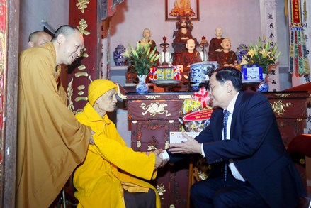 Giáo hội Phật giáo Việt Nam luôn đồng hành cùng sự phát triển của dân tộc