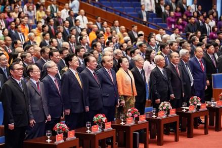Kỷ niệm 90 năm ngày thành lập Đảng Cộng sản Việt Nam (3/2/1930 - 3/2/2020): Đảng với Mặt trận như 'hình với bóng'