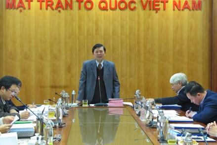 Nâng cao chất lượng của UBTƯ MTTQ Việt Nam trong xây dựng pháp luật