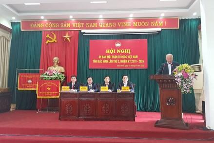 Hội nghị Uỷ ban MTTQ Việt Nam tỉnh Bắc Ninh lần thứ II, nhiệm kỳ 2019 - 2024