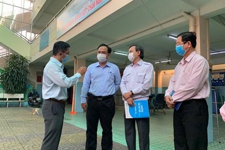 MTTQ Việt Nam Thành phố HCM: Giám sát công tác triển khai phòng, chống dịch Covid-19