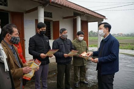 MTTQ tỉnh Thái Nguyên cùng nhân dân phòng dịch