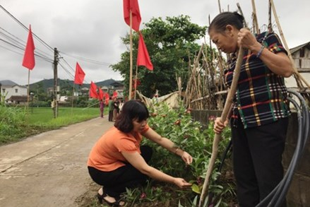 Mặt trận Yên Bái đồng hành cùng người dân xây dựng mô hình khu dân cư tự quản