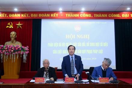 Làm rõ vai trò phản biện của MTTQ Việt Nam khi ban hành văn bản quy phạm pháp luật