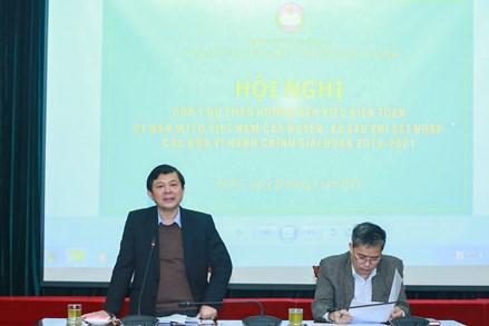 Kiện toàn Ủy ban MTTQ Việt Nam cấp huyện, xã sau khi sắp xếp, sáp nhập
