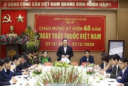 Bí thư thành ủy Hà Nội: Sức khoẻ là vốn quý nhất của con người